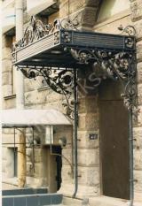 Художественная ковка фасадов